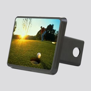 Hole in One Rectangular Hitch Cover