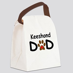 Keeshond Dad Canvas Lunch Bag