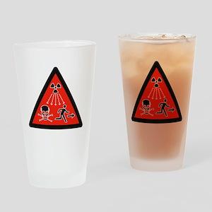 radiation Symbol Drinking Glass