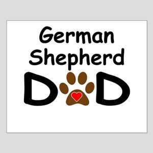 German Shepherd Dad Posters