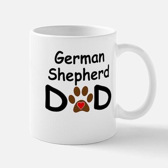 German Shepherd Dad Mug