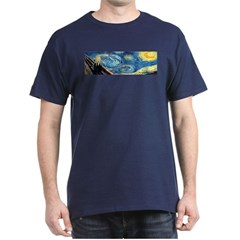 Van Gogh & Munch (front and back) T-Shirt