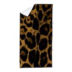 Jaguar Print Beach Towel