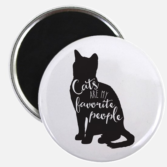 Cats Are My Favorite People Magnets