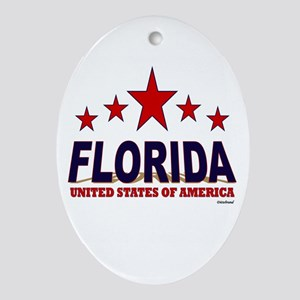 Florida U.S.A. Ornament (Oval)