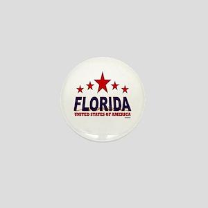 Florida U.S.A. Mini Button