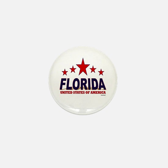 Florida U.S.A. Mini Button