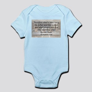 Genesis 2:24 Body Suit