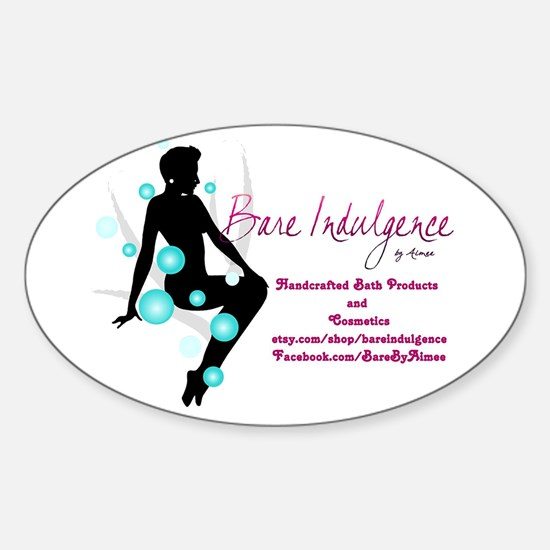 Cute Handcrafted soap Sticker (Oval)