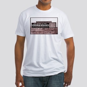 WELCOME TO NEW JERSEY Fitted T-Shirt