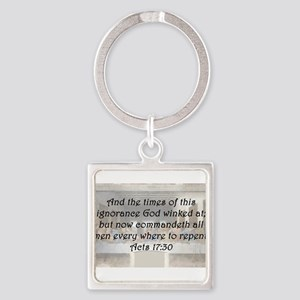Acts 17:30 Keychains