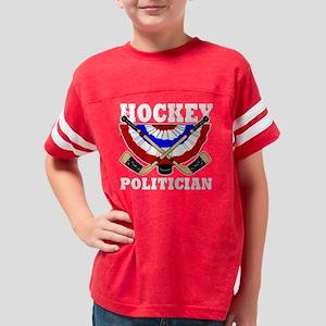 HockeyPolitician Youth Football Shirt