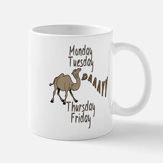 Hump Day Camel Weekdays Mug