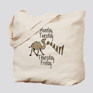 Hump Day Camel Weekdays Tote Bag