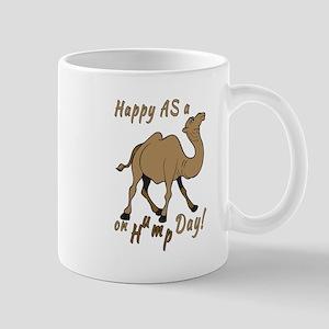 Happy AS A a Camel on Hump Day Mug