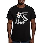 Zombie Parrot Wants A Cracker Men's Fitted T-Shirt