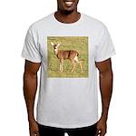 Forked Horn Buck Ash Grey T-Shirt