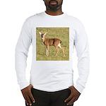 Forked Horn Buck Long Sleeve T-Shirt