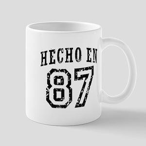 Hecho En 87 Mug