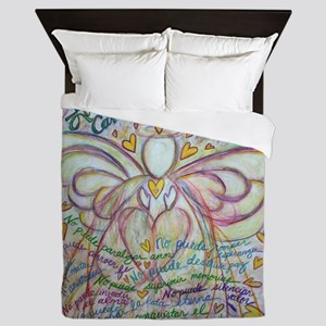 Spanish What Cancer Cannot Do Angel Queen Duvet
