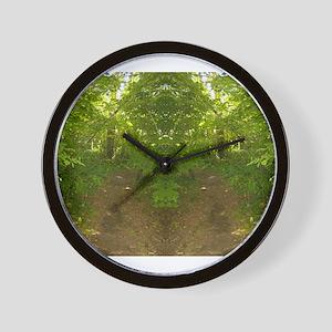 Nature Spirits 117a Wall Clock