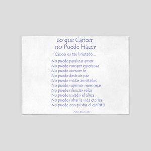 Lo que cáncer no puede hacer 5'x7'Area Rug