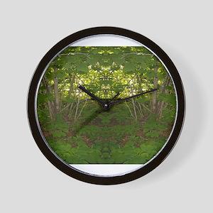 Nature Spirits 115a Wall Clock