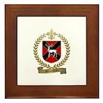 BLANCHETTE Family Crest Framed Tile