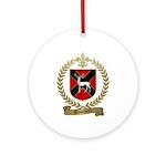 BLANCHETTE Family Crest Ornament (Round)