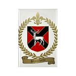 BLANCHETTE Family Crest Rectangle Magnet
