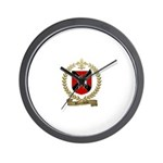 BLANCHETTE Family Crest Wall Clock
