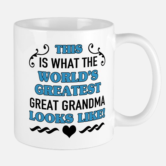 World's Greatest Great Grandma Mugs