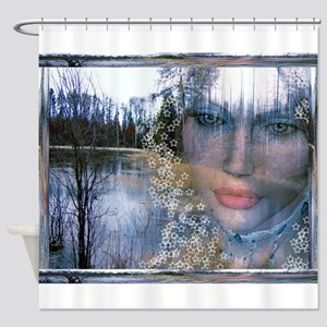 Forest Fae 9ab Shower Curtain