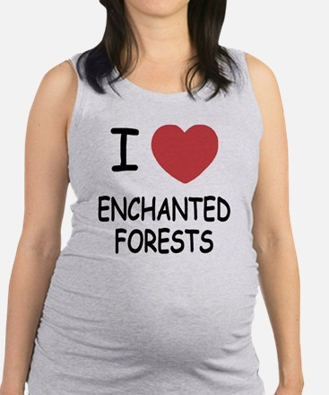 ENCHANTED_FORESTS.png Maternity Tank Top