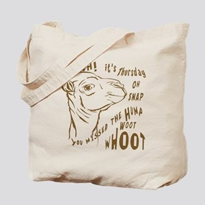 What Day is it HumpDay Camel Tote Bag