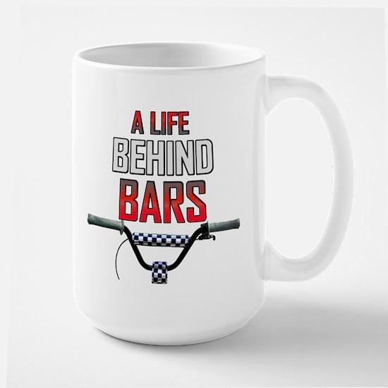 BMX A Life Behind Bars Large Mug