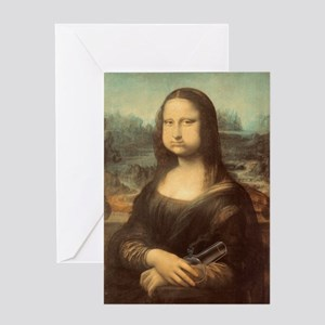 Mota-Lisa-LG Greeting Card