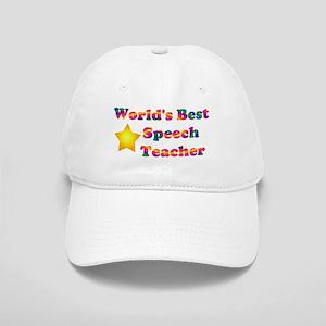 World's Best Speech Teacher Cap