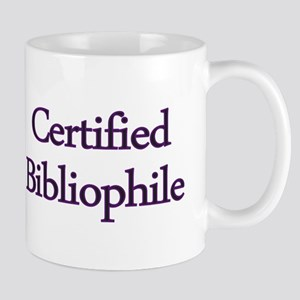 Certified Bibliophile Mug
