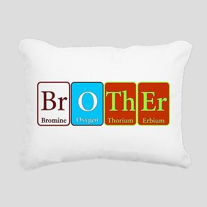 Brother Rectangular Canvas Pillow