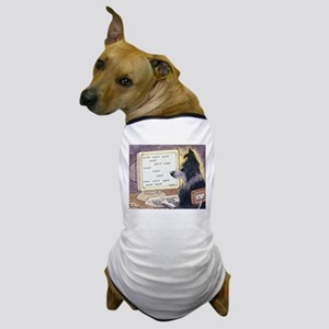 Border Collie dog writer Dog T-Shirt