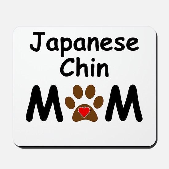 Japanese Chin Mom Mousepad