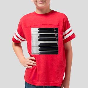 Piano Keys Youth Football Shirt