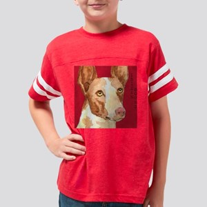 Ibizan Hound Youth Football Shirt