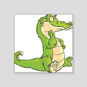 Thinking Crocodile Sticker