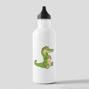 Thinking Crocodile Water Bottle