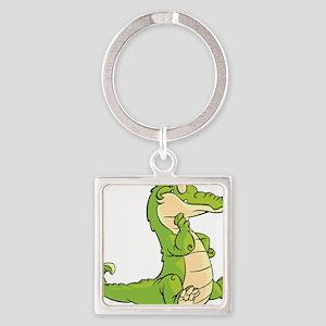 Thinking Crocodile Keychains