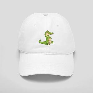 Thinking Crocodile Baseball Cap