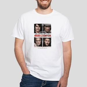 Night of the Templar White T-Shirt