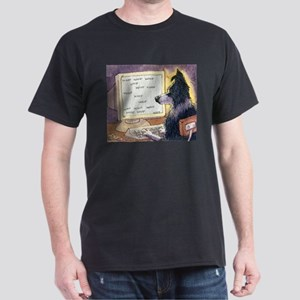 Border Collie dog writer T-Shirt